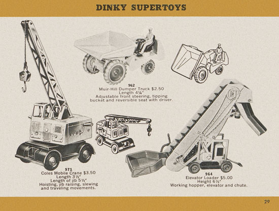 Dinky Toys catalogue 1957
