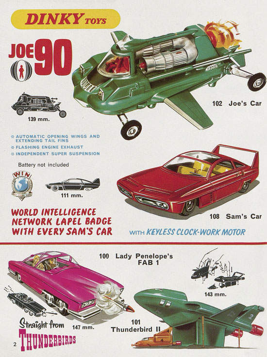 Dinky Toys catalogue No. 7 1971