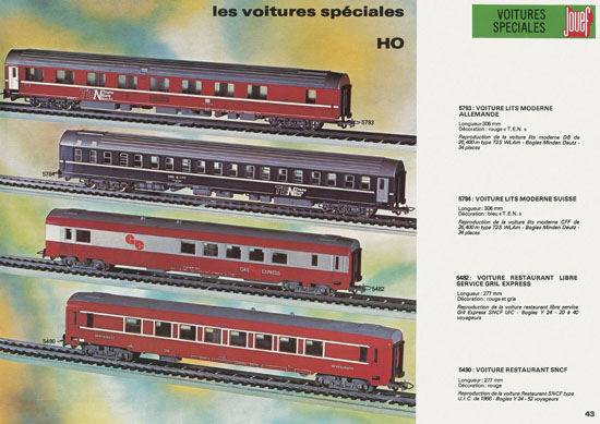 Jouef catalogue 1978-1979