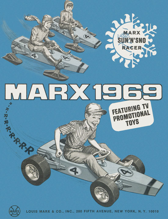 Louis Marx catalog 1969
