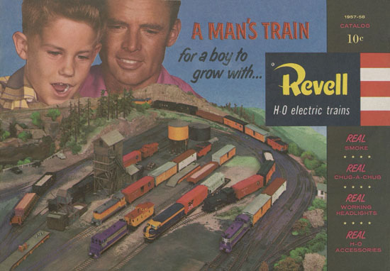 Revell H0 electric trains 1957-1958