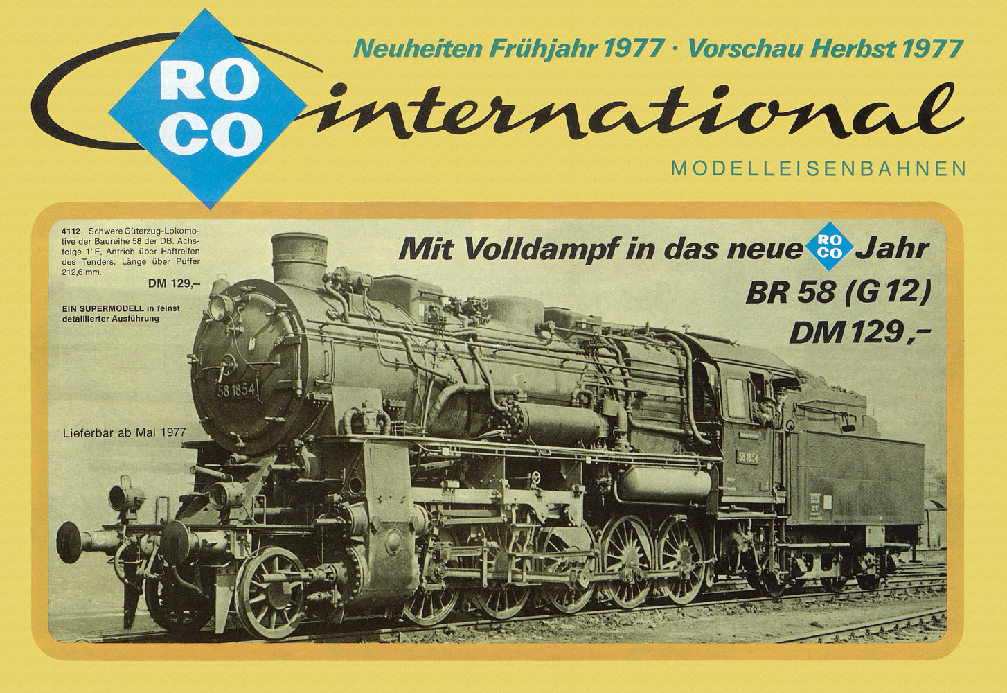 ROCO International Neuheiten 1977