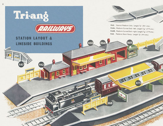 Tri-ang Railways catalog 1956