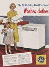 General Electric - The New GE Washes clothes 1950