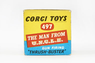 Corgi Toys 497 Oldsmobile The Man from Uncle OVP