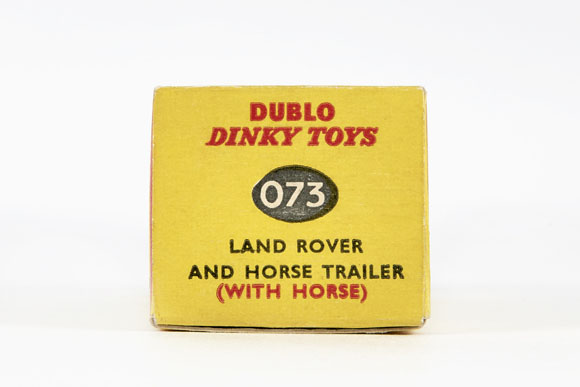 Dinky Toys 73 Land Rover and Horse Trailer OVP