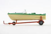 Dinky Toys 796 Healey Sports Boat on trailer