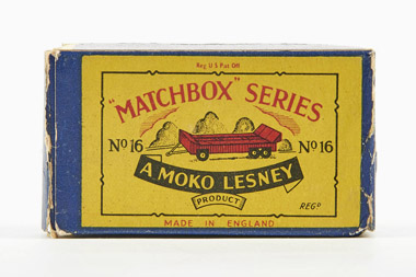 Matchbox 16 Transport trailer OVP