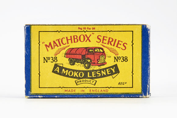 Matchbox 38 Karrier Refuse Collector OVP