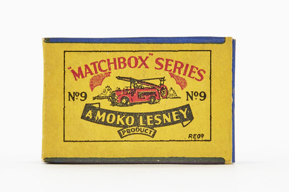 Matchbox 9 Dennis Fire Engine OVP