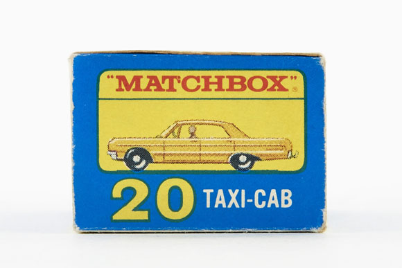 Matchbox No. 20 Chevrolet Taxi OVP