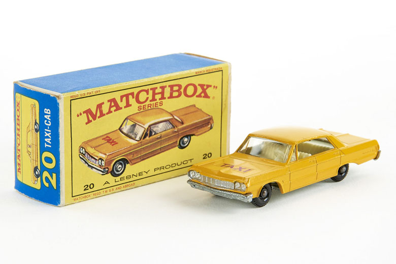 Matchbox No. 20 Chevrolet Taxi
