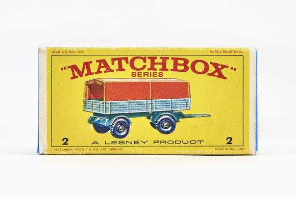 Matchbox 2 Mercedes Trailer OVP