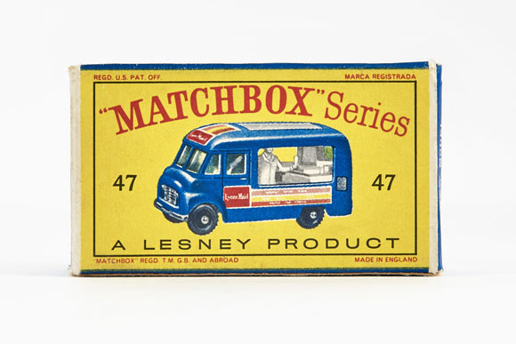Matchbox 47 Commer Ice Cream Canteen OVP