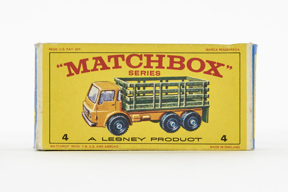 Matchbox No. 4 Dodge Stake Truck OVP
