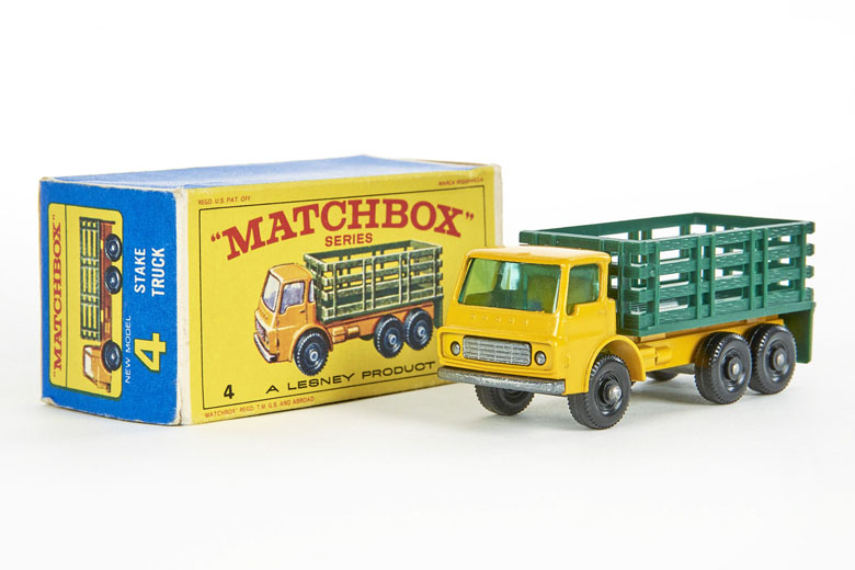 Matchbox No. 4 Dodge Stake Truck