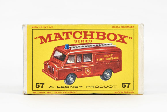 Matchbox 57 Land Rover Fire Truck OVP