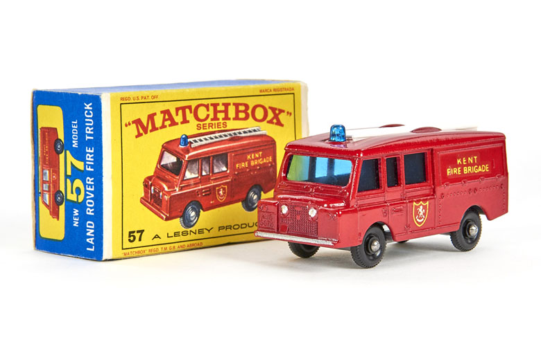 Matchbox 57 Land Rover Fire Truck