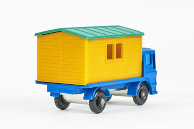 Matchbox 60 Truck with Site Office OVP