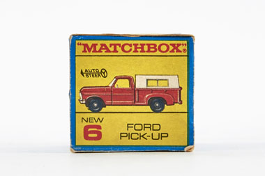 Matchbox 6 Ford Pick-up OVP