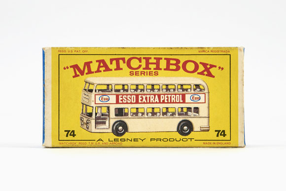 Matchbox 74 Daimler Bus OVP