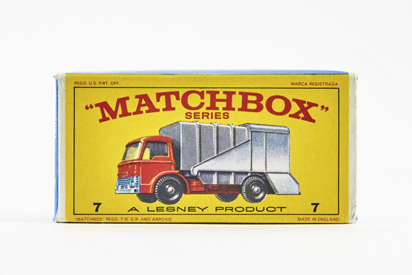 Matchbox 7 Refuse Truck OVP