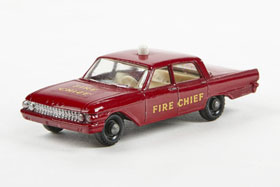 Matchbox 59 Fire Chief's Car