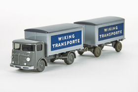 Wiking Büssing 4500 Koffer-LKW Wiking Transporte